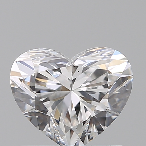 0.76 Carat Heart Loose Diamond, E, VS2, Super Ideal, GIA Certified