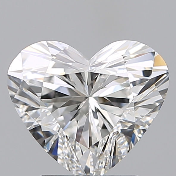 2.00 Carat Heart Loose Diamond, F, VS2, Super Ideal, GIA Certified