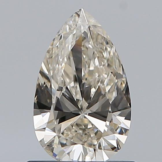 0.69 Carat Pear Loose Diamond, L, SI2, Ideal, GIA Certified | Thumbnail