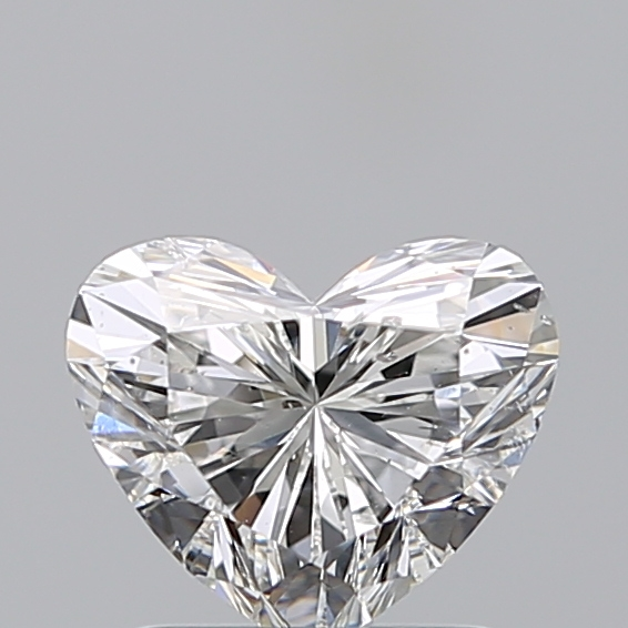 1.08 Carat Heart Loose Diamond, F, SI2, Super Ideal, GIA Certified | Thumbnail