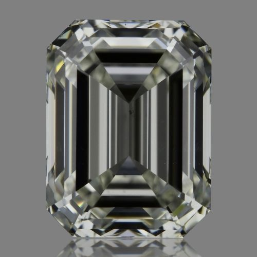 1.01 Carat Emerald Loose Diamond, J, VS2, Super Ideal, GIA Certified