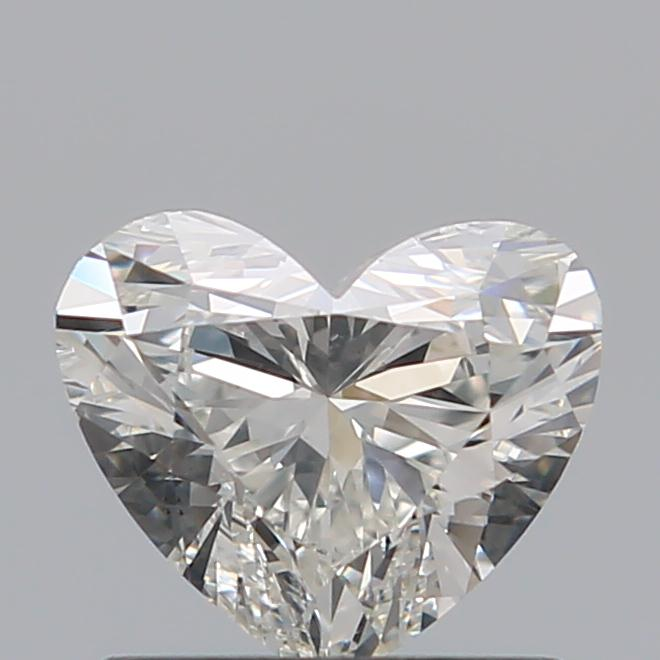 0.80 Carat Heart Loose Diamond, I, SI1, Super Ideal, GIA Certified