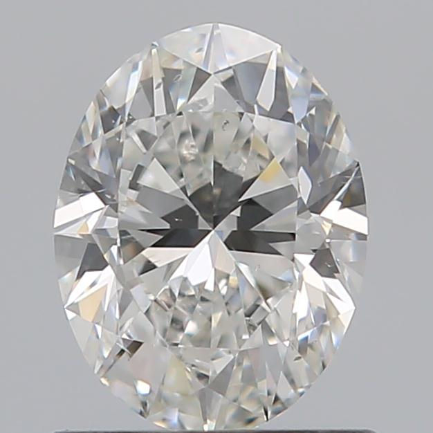 0.80 Carat Oval Loose Diamond, G, SI1, Ideal, GIA Certified