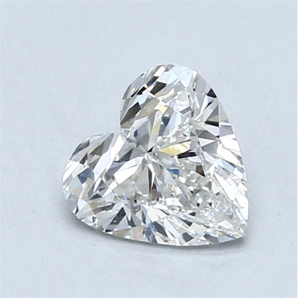 1.05 Carat Heart Loose Diamond, G, SI1, Ideal, GIA Certified