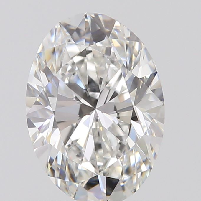 0.52 Carat Oval Loose Diamond, F, VS1, Ideal, GIA Certified | Thumbnail