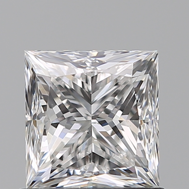 0.80 Carat Princess Loose Diamond, E, VS2, Ideal, GIA Certified