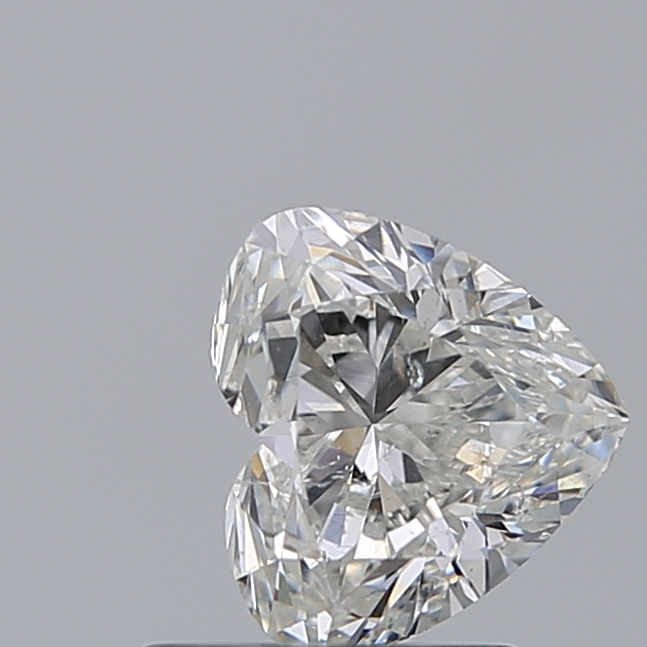 1.00 Carat Heart Loose Diamond, I, SI2, Excellent, GIA Certified