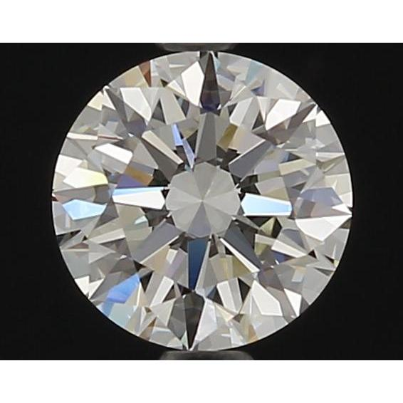 1.06 Carat Round Loose Diamond, I, VVS1, Super Ideal, GIA Certified