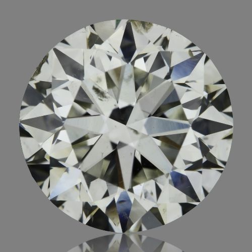 3.01 Carat Round Loose Diamond, J, SI2, Excellent, GIA Certified