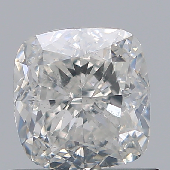 0.72 Carat Cushion Loose Diamond, H, SI2, Excellent, GIA Certified | Thumbnail