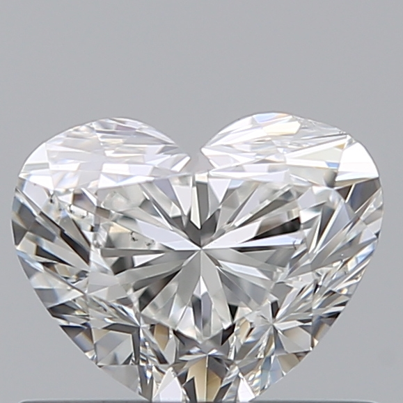0.50 Carat Heart Loose Diamond, G, SI1, Ideal, GIA Certified