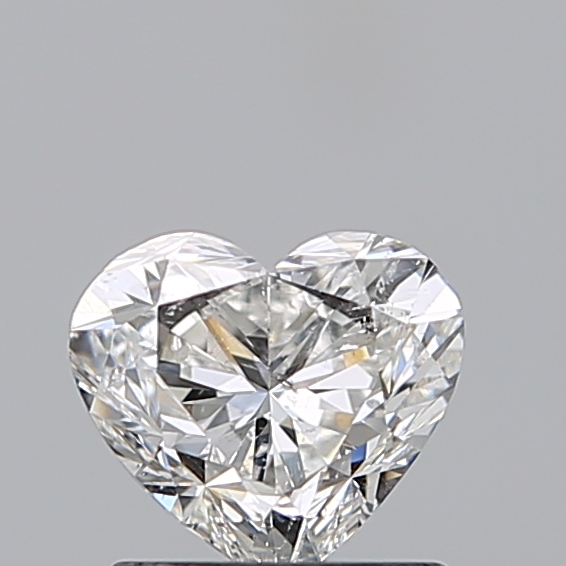 0.97 Carat Heart Loose Diamond, G, SI2, Excellent, GIA Certified