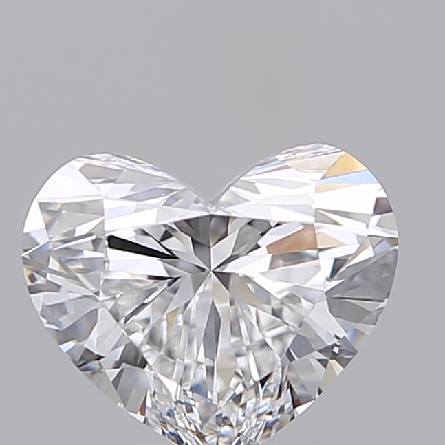 2.01 Carat Heart Loose Diamond, D, IF, Super Ideal, GIA Certified