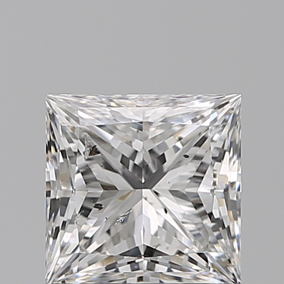 1.03 Carat Princess Loose Diamond, E, SI2, Super Ideal, GIA Certified