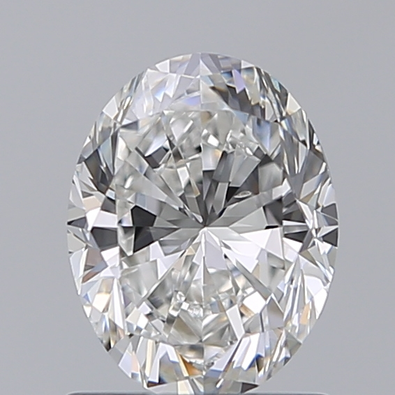 1.00 Carat Oval Loose Diamond, F, VS2, Excellent, GIA Certified