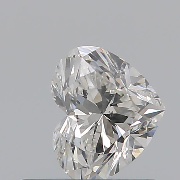 0.50 Carat Heart Loose Diamond, I, SI1, Excellent, GIA Certified