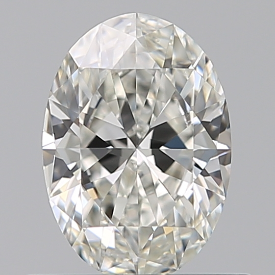0.52 Carat Oval Loose Diamond, H, IF, Super Ideal, GIA Certified