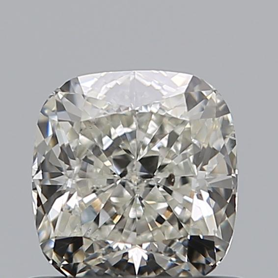 0.73 Carat Cushion Loose Diamond, J, SI2, Super Ideal, GIA Certified