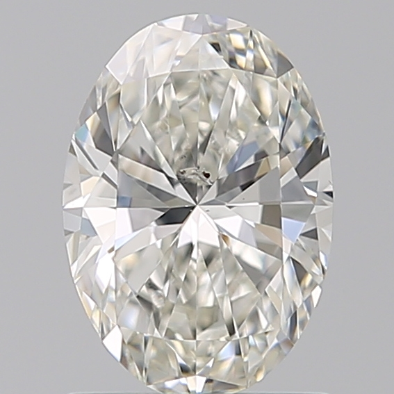 0.99 Carat Oval Loose Diamond, I, SI2, Super Ideal, GIA Certified | Thumbnail