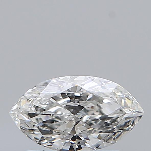 0.50 Carat Marquise Loose Diamond, F, SI2, Ideal, GIA Certified