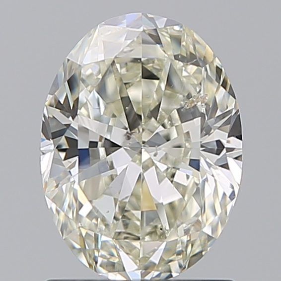 1.20 Carat Oval Loose Diamond, L, SI2, Ideal, GIA Certified
