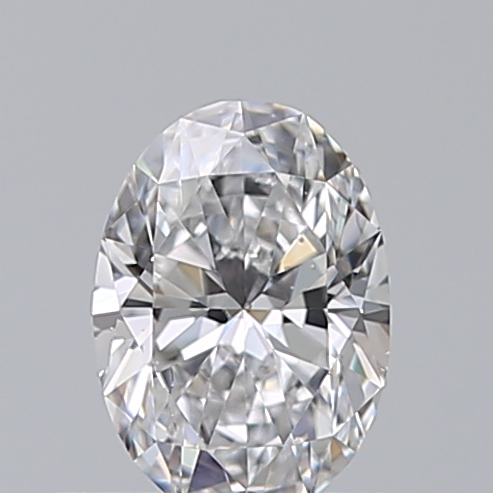 0.40 Carat Oval Loose Diamond, D, SI1, Super Ideal, GIA Certified | Thumbnail