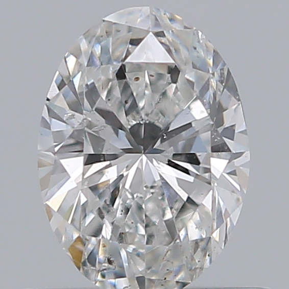 0.50 Carat Oval Loose Diamond, F, SI2, Ideal, GIA Certified