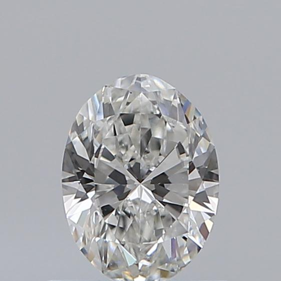 0.50 Carat Oval Loose Diamond, G, VS1, Excellent, GIA Certified
