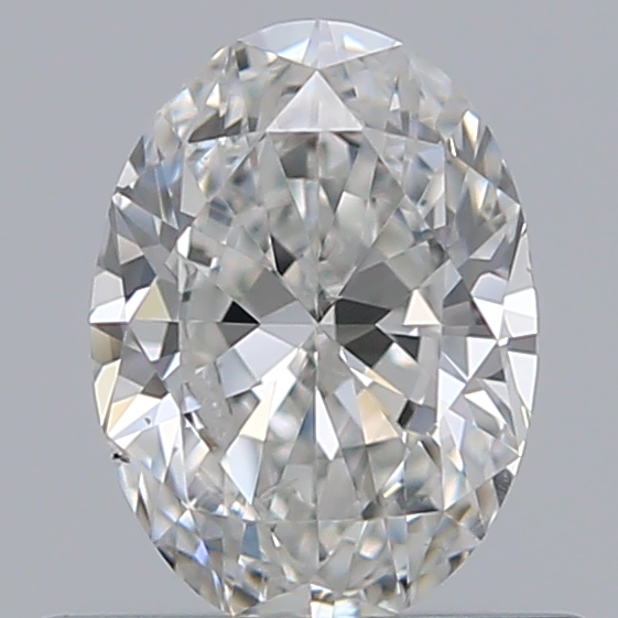 0.50 Carat Oval Loose Diamond, G, SI1, Ideal, GIA Certified | Thumbnail