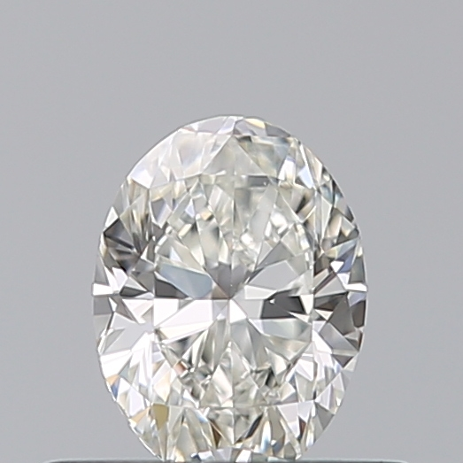 0.40 Carat Oval Loose Diamond, I, VS1, Ideal, GIA Certified