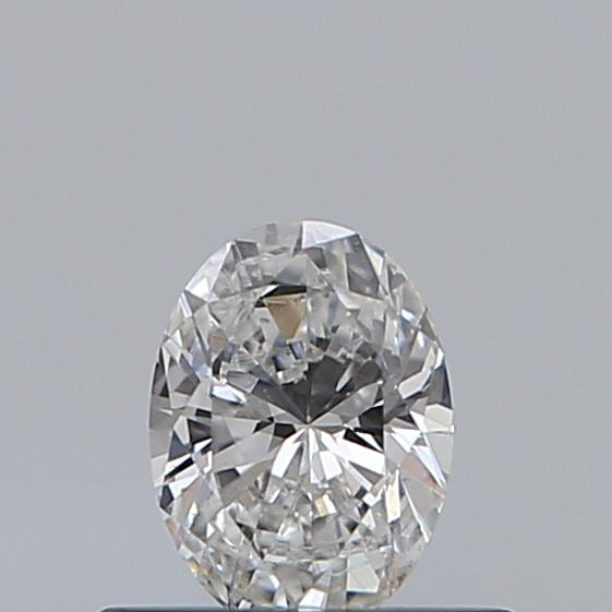 0.35 Carat Oval Loose Diamond, F, SI1, Excellent, GIA Certified