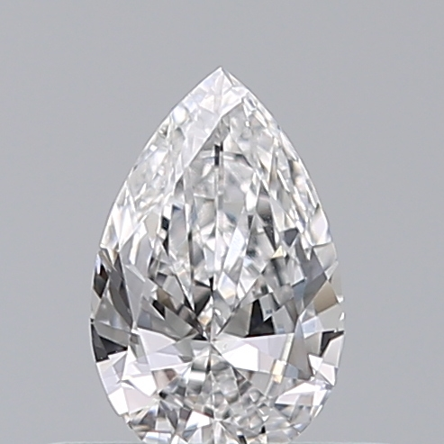 0.31 Carat Pear Loose Diamond, D, VS1, Excellent, GIA Certified