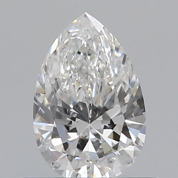 0.43 Carat Pear Loose Diamond, F, SI1, Ideal, GIA Certified