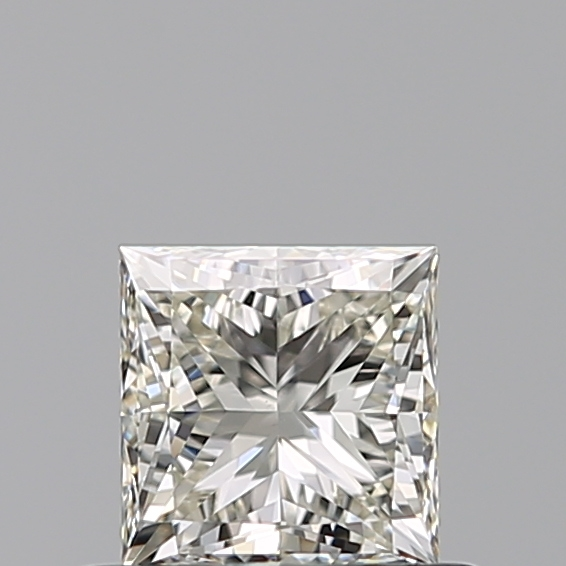 0.50 Carat Princess Loose Diamond, K, VVS2, Excellent, GIA Certified