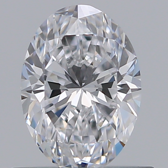 0.51 Carat Oval Loose Diamond, D, VS1, Super Ideal, GIA Certified