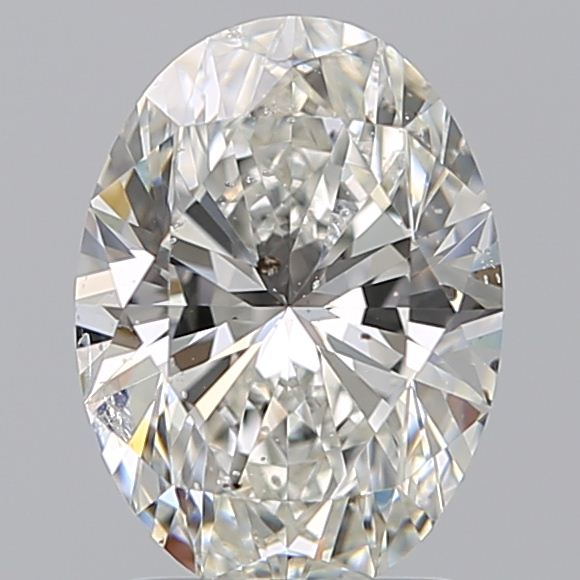 1.79 Carat Oval Loose Diamond, G, SI2, Super Ideal, GIA Certified