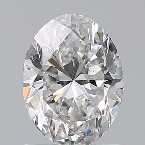 0.90 Carat Oval Loose Diamond, E, SI2, Ideal, GIA Certified