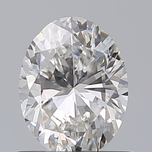 0.70 Carat Oval Loose Diamond, F, SI1, Excellent, GIA Certified