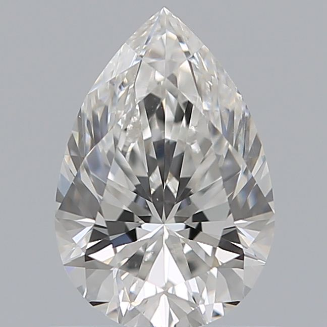 0.75 Carat Pear Loose Diamond, F, VS2, Ideal, GIA Certified | Thumbnail