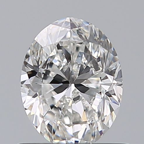 0.72 Carat Oval Loose Diamond, D, VS2, Excellent, GIA Certified
