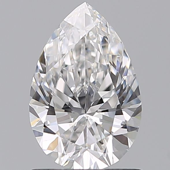 1.00 Carat Pear Loose Diamond, E, VS1, Super Ideal, GIA Certified