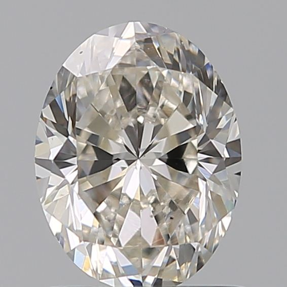 0.90 Carat Oval Loose Diamond, J, VS2, Excellent, GIA Certified