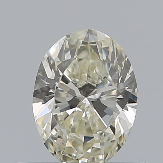 0.40 Carat Oval Loose Diamond, K, VVS2, Ideal, GIA Certified