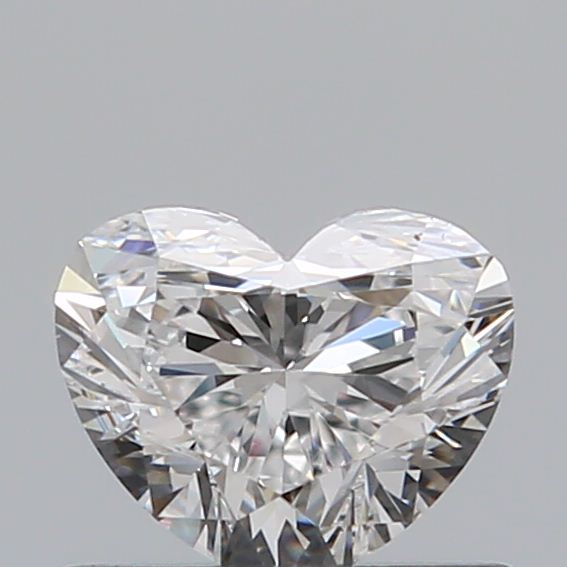 0.50 Carat Heart Loose Diamond, E, VS1, Ideal, GIA Certified