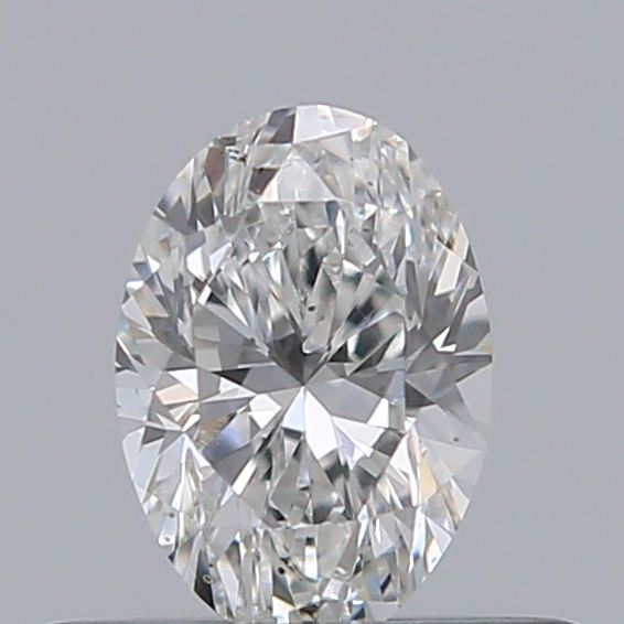 0.34 Carat Oval Loose Diamond, F, VVS2, Very Good, GIA Certified