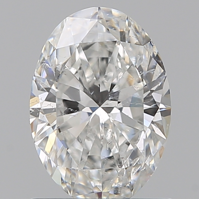 0.80 Carat Oval Loose Diamond, F, SI2, Ideal, GIA Certified | Thumbnail