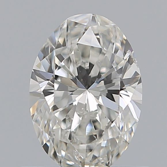 0.50 Carat Oval Loose Diamond, H, SI1, Excellent, GIA Certified