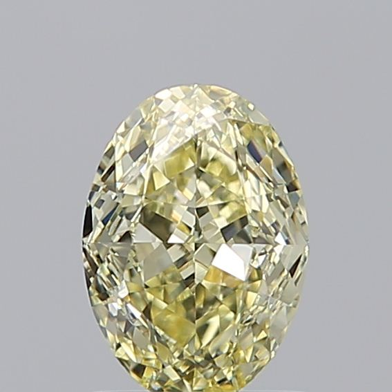 1.02 Carat Oval Loose Diamond, FANCY, VVS1, Ideal, GIA Certified