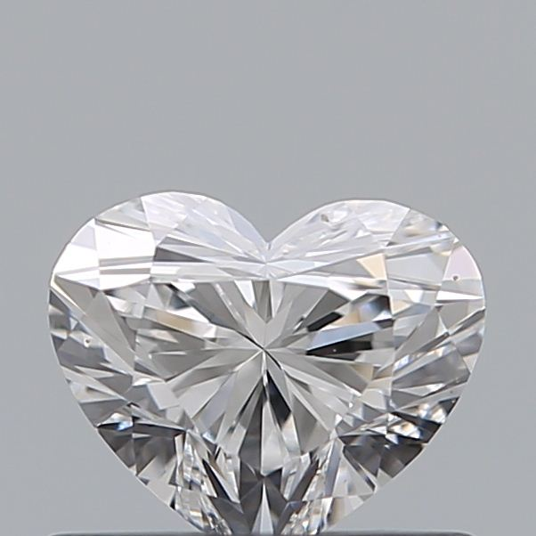 0.51 Carat Heart Loose Diamond, D, VS1, Ideal, GIA Certified