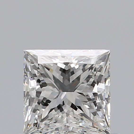 0.50 Carat Princess Loose Diamond, G, VS1, Ideal, GIA Certified